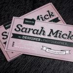 20 modelos de tarjetas de presentación o tarjetas de negocios, (parte IX)